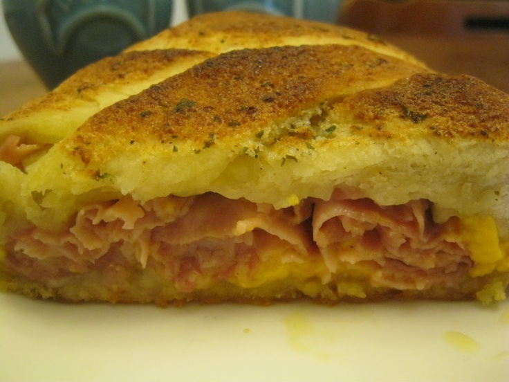 Freezer Meal: Ham & Cheese Braid (omit ranch & use low salicylate sauce…