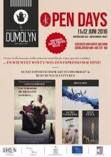 open deur bij koffiebranderij Dumolyn