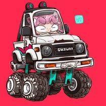 1000+ images about suzuki sj 410 on Pinterest | Cartoon ...  |Cartoon Suzuki Samurai