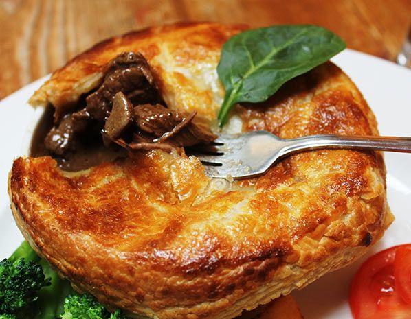 Giuseppe Ronchetti's east London steak and kidney pie (© The Rosemary Branch)