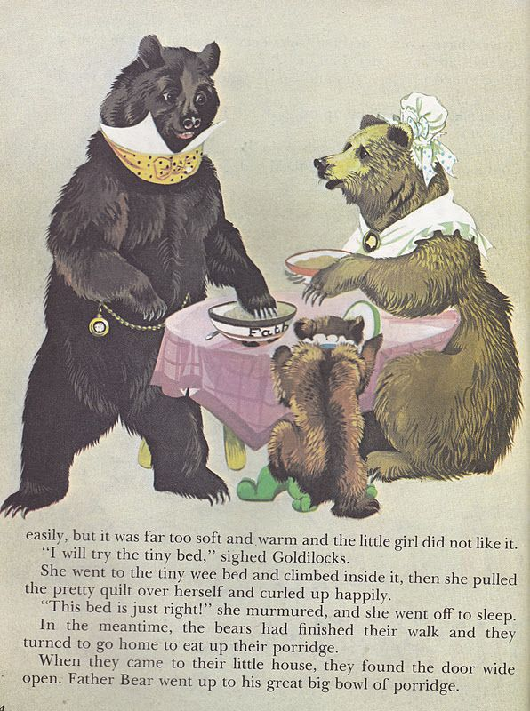 1000+ images about Goldilocks and The Three Bears on Pinterest   Bears ...