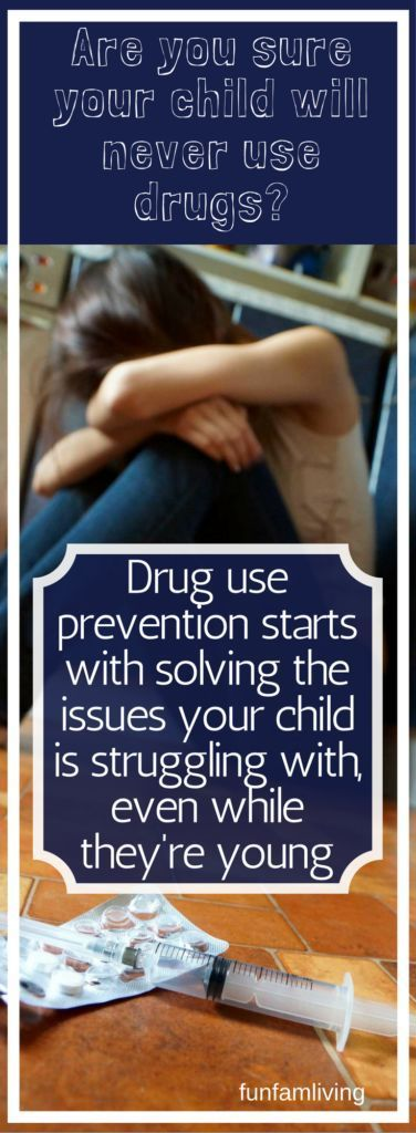 Keep your child drug free. It's not always easy.
