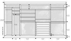 Closets e armários na medida - Casa