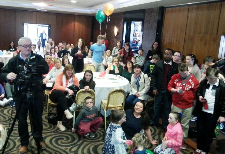 A selection of the friends, families and guests who attended on the day.