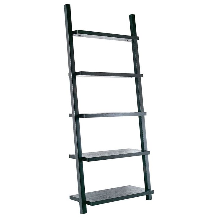 Have to have it. Tag Leaning Bookcase - Java $429.99