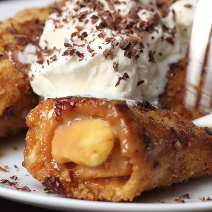 Banoffee French Toast Roll-Ups