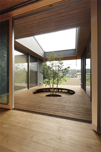 17 best images about landscape by design on pinterest for Homes with enclosed courtyards