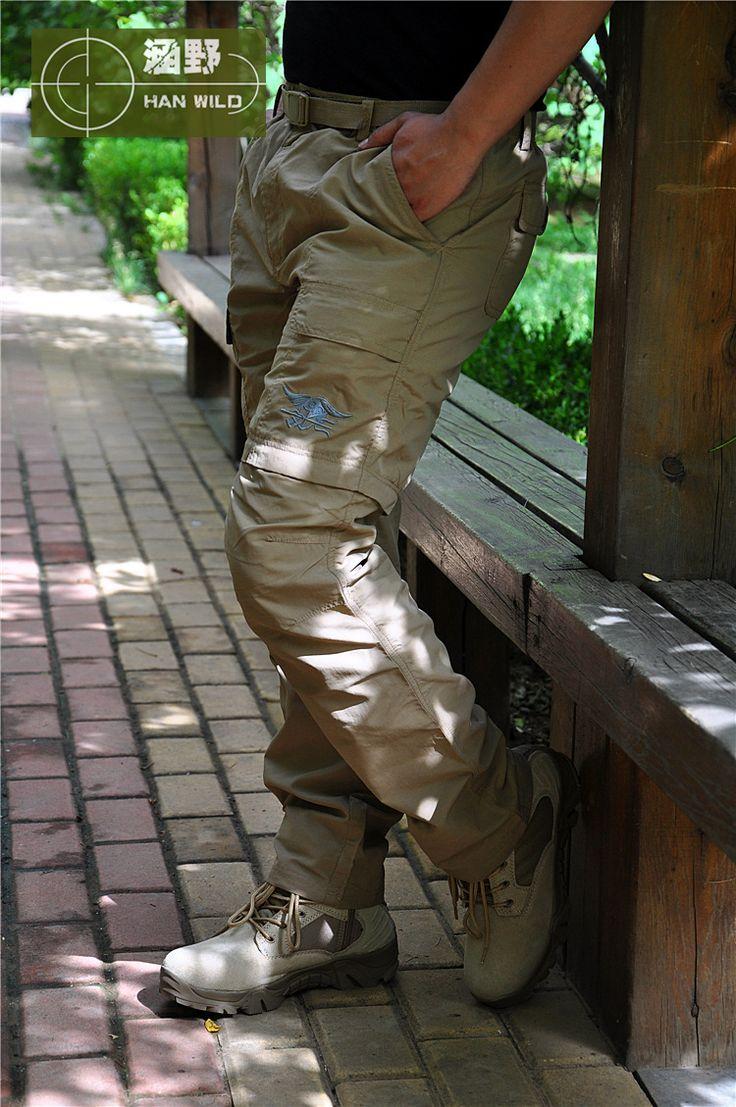 Goedkope tactische broek navy seals snel snel droog stedelijke tactische broek uitneembare outdoor wandelen leger militaire kleding casual broek broek, koop Kwaliteit wandelen broek rechtstreeks van Leveranciers van China: