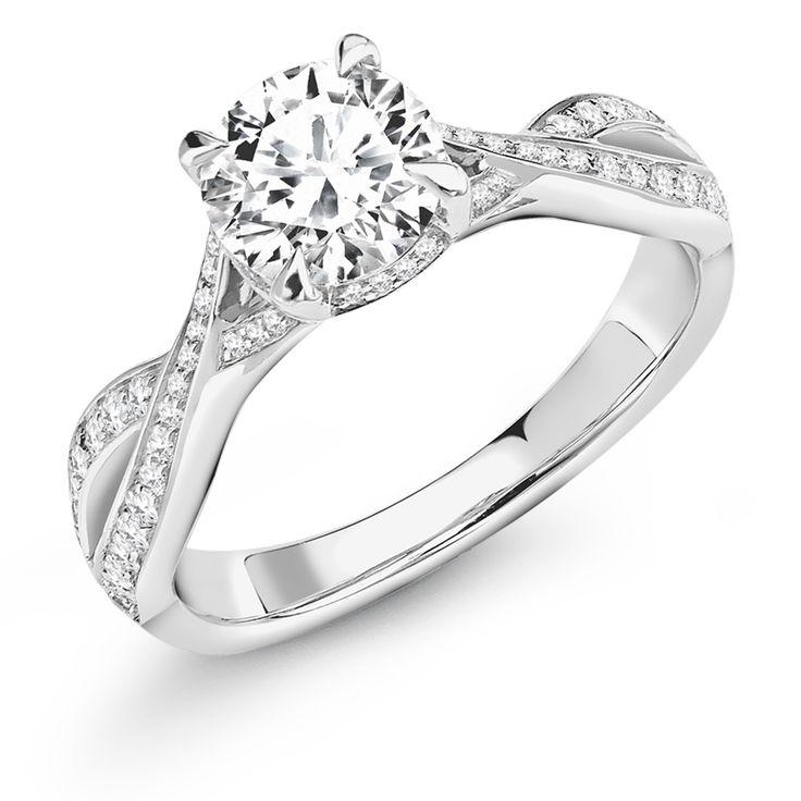 Claw Set 1.30ct Round Brilliant Cut Diamond Ring