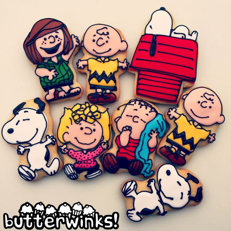 Peanuts cookies by ButterWinks!