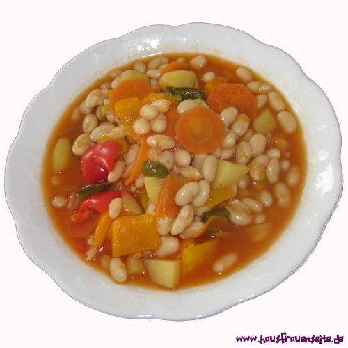 weiße Bohnensuppe die weiße Bohnensuppe ist eines unserer liebsten Rezepte. Es enthält viel Gemüse, ist frisch und schnell gekocht, schmeckt vegetarisch oder mit Einlage und wird auch von unseren Kindern geliebt. vegetarisch vegan laktosefrei glutenfrei
