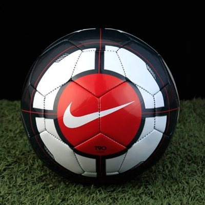 Nike T90 Laser Equipment Soccer Ball - Charcoal/Multi www.fanatics.com #Fanatics