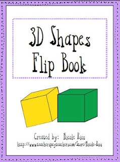 This ready-made, easy-to-assemble, 3D shapes flip book covers sphere, cylinder, cone, pyramid, cube, and rectangular prism. It also presents illustrated examples, and definitions, for important vocabulary terms such as vertices, edges, and faces.