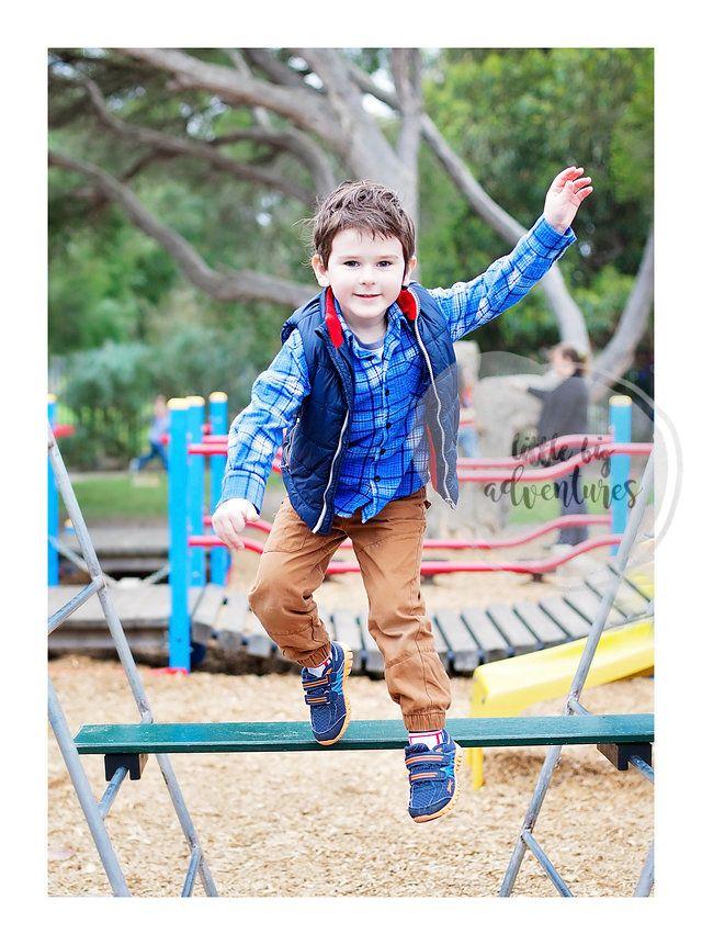 Jump!  Melbourne Kinder Photographer | Little Big Adventures