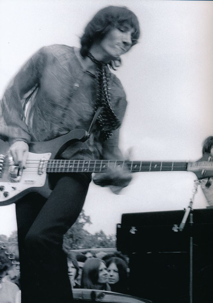 Dynamic shot of Roger at the Midsummer High concert June 1968. Photo by Ray Stevenson