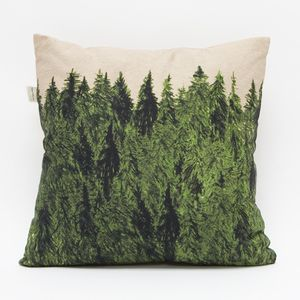 forest pillow.