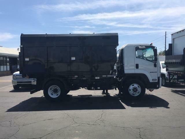 New 2018 Isuzu Ftr Rolloff Dumpster 14ft Switch N Go Truck Trucks Dump Body Dumpster