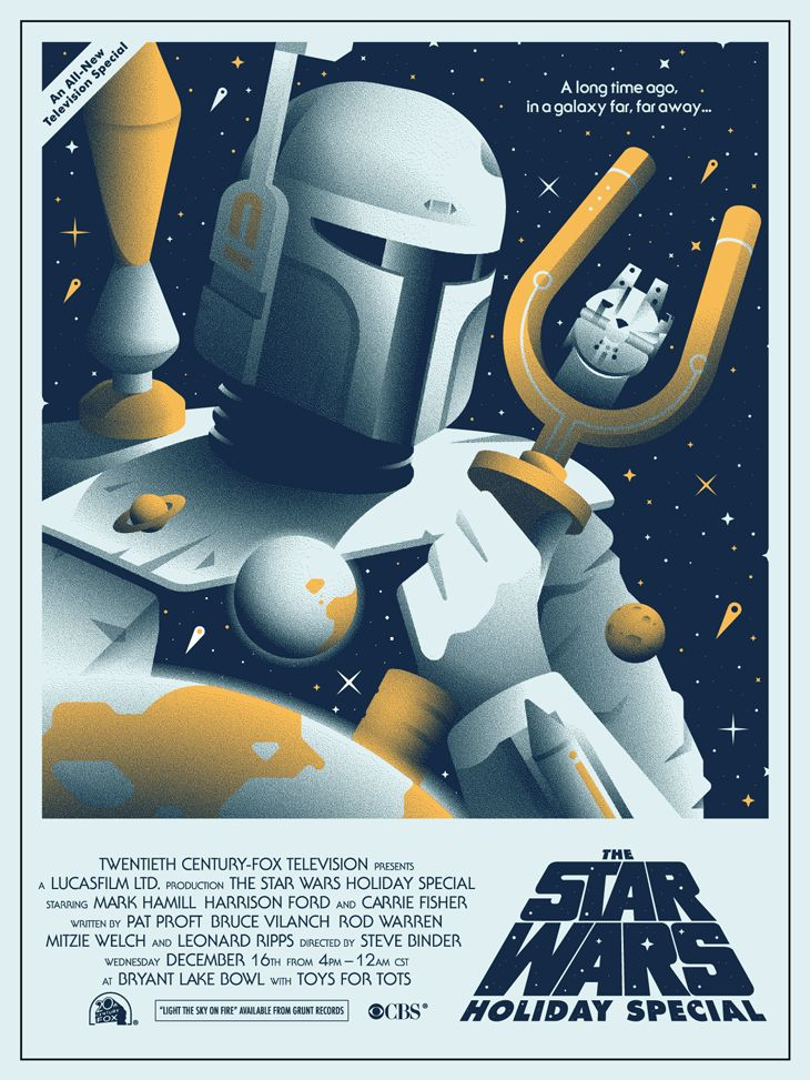 Star Wars Holiday Poster