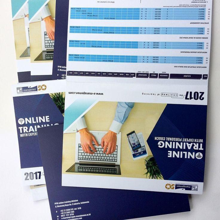 Trifold brochures for PPM Manajemen  Proudly printed in Indonesia. Make your own at http://ift.tt/2lBNAkc #percetakan #jakarta #maucetak #design #printing #marketing #designinpiration #picoftheday #photooftheday #branding #onlineshop #freeongkir #brosur #brochures #katalog #catalogue #ppm #management #school