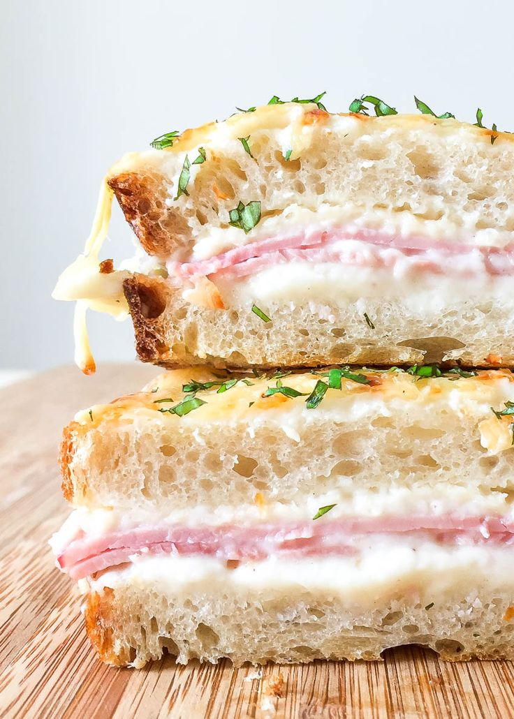 croque-monsieur / french croque monsieur / croque monsieur recipe