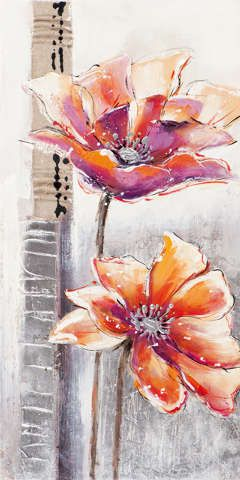 New+Life+Collection+-+Beruhigende+Blüten+II+-+handgemaltes+Leinwandbild+günstig+kaufen+-+auch+auf+Rechnung!