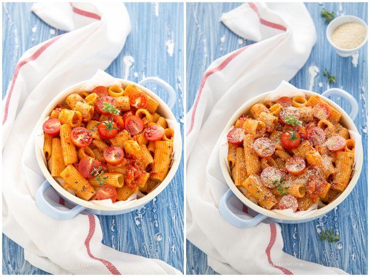 pasta-al-forno-pomodoro-mozzarella-ricetta-senza-besciamella
