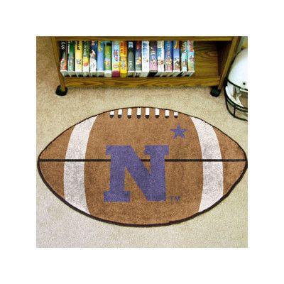 FANMATS NCAA U.S. Naval Academy Football Mat