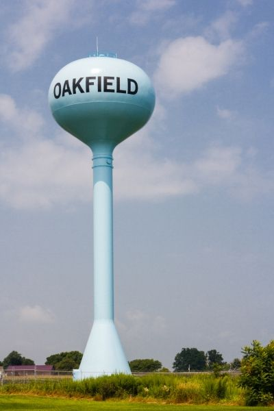 Village of Oakfield, NY Water Tank Replacement. See more on Clark Patterson Lee's blog at: www.clarkpattersonlee.com