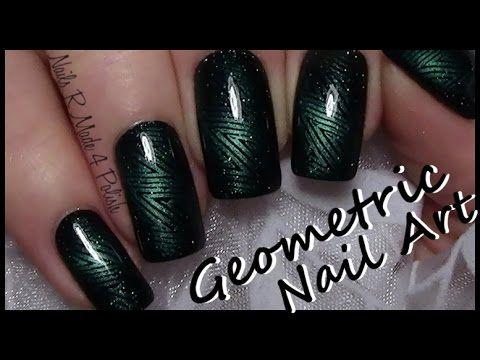 Bunte Streifen Nägel mit Stamping & Pünktchen / Colorful Nail Art Design - YouTube