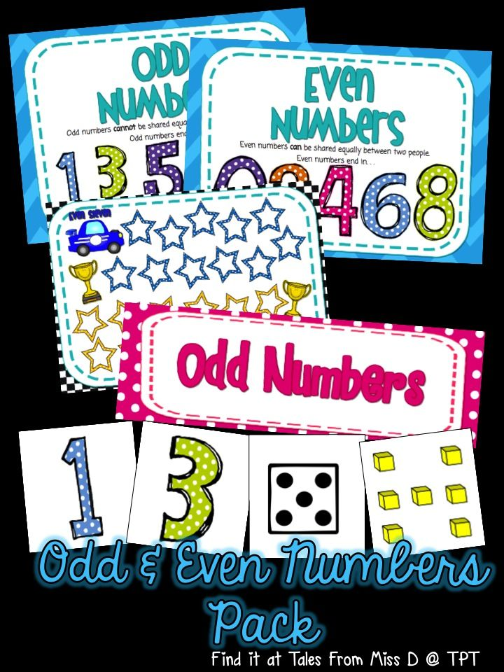 In this pack you will find 2 games and a mini poster set! * Game 1 : Odd Todd vs Even Steven * Game 2: Odd and Even Number Sort * Poster Set: Two posters that explain what even and odd numbers are
