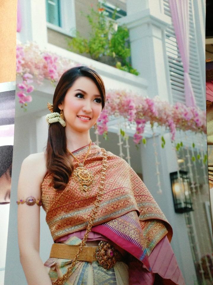 52 best Thai Wedding Dress images on Pinterest Thai dress Thai