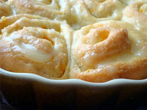 Самые вкусные рецепты: Воздушные апельсиновые булочки