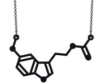Methamphetamine Necklace | Methamphetamine Molecule