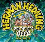 Strömsholms Brygghus bryggeri mikrobryggeri microbryggeri ale öl lager stout porter Herman hedning Peoples beer 2,8