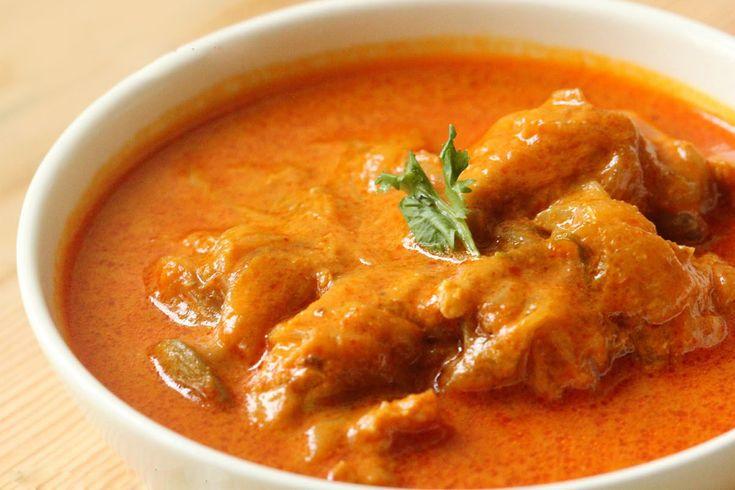 Indiase Kip Stoofpotje, een heerlijk kruidig pittig recept uit het oosten! Erg lekker en redelijk gemakkelijk te bereiden.