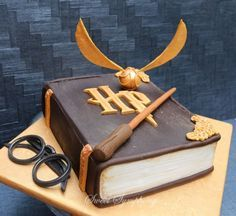 Harry Potter Cake!                                                                                                                                                     More