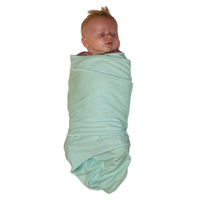 Help your baby sleep better than you ever imagined with this 100% cotton knit Miracle Blanket.  The Miracle Blanket makes it easy to get the perfect swaddle every time, even in the dark!  NZ$34.95 from Squoodles http://squoodles.co.nz/products/miracle-blanket-baby-wrap/