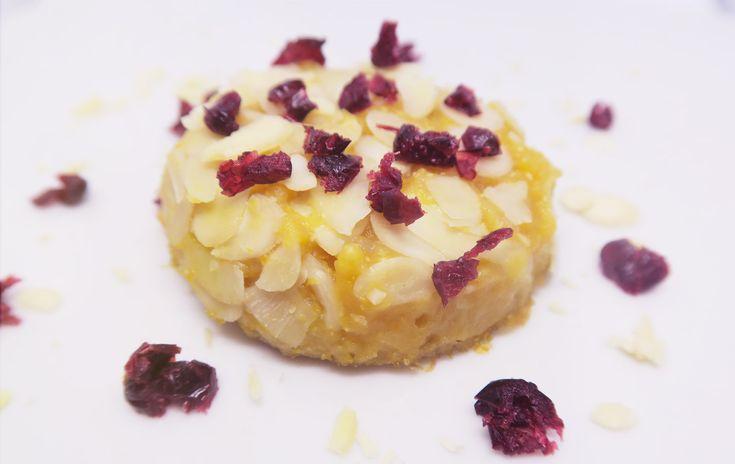 RICETTA VEG - tortino di zucca in crosta di mandorle