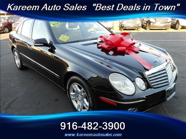 #HellaBargain 2007 Mercedes-Benz E 320 BlueTEC Automatic Sacramento: $9,980.00  www.hellabargain.com