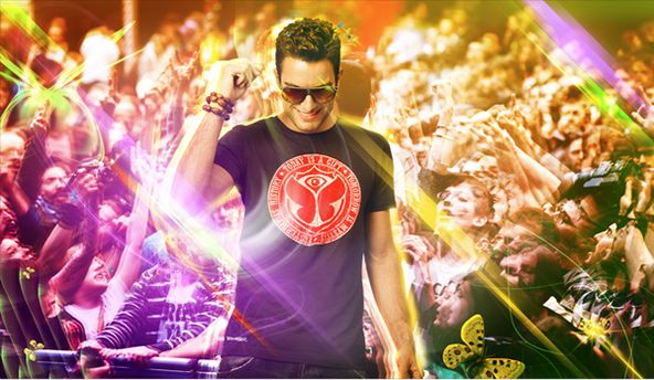 Festival Clothing: The Tomorrowland Line Up in T-shirts
