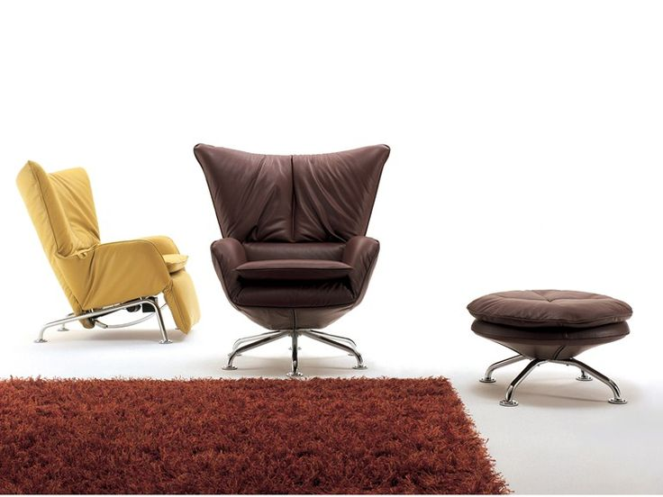 Recliner armchair with footstool SINGLE | Recliner armchair - i 4 Mariani