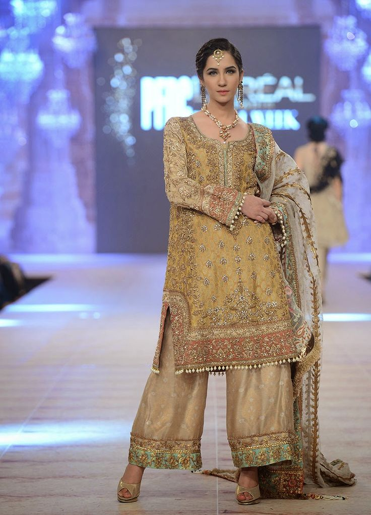 Bridal Dresses 2015 | Latest Bridal Dresses By Nickie Nina At PFDC | WFwomen