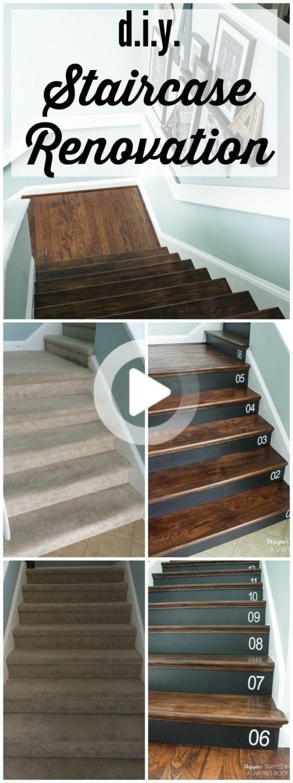 Best Removing Carpet From Stairs And Replacing It With Wood 400 x 300