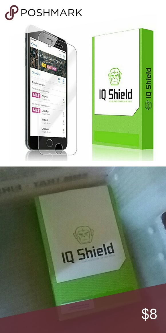 "iPhone 6S Plus Screen Protector iPhone 6S Plus Screen Protector, IQ Shield LiQuidSkin Full Coverage Screen Protector for iPhone 6S Plus (iPhone 6 Plus 5.5"") HD Clear Anti-Bubble Film - with Accessories"