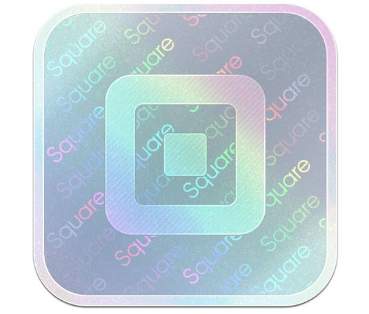 Square Wallet is a payment app for your phone. The muted colours, metallic theme and solid geometric shapes all suggest authority, which is crucial in any financial app.