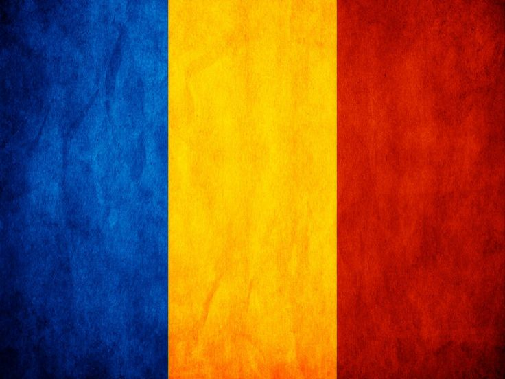 The national flag of Romania is a tricolor with vertical stripes, beginning from the flagpole: blue, yellow and red.