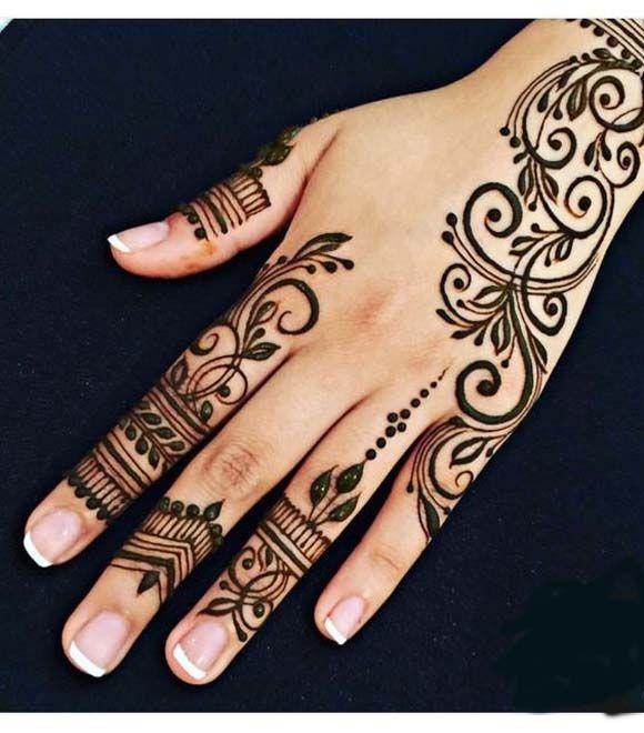 Hand Mehndi Design 2017