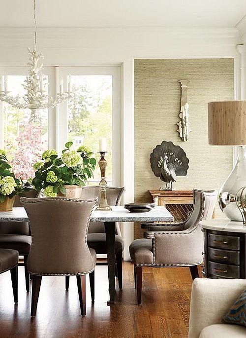 grasscloth wallpaper living rooms - photo #23