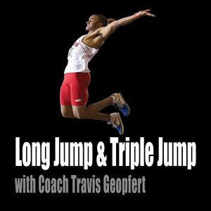 Long Jump Drills and Tips Coach Travis Geopfert University of Arkansas Pop Ups and Penultimate Drills Continuous pop-ups Most specific plyometric drill for long jumping. Easy jog into the penultimate set-up Many repetitions are very important. Penultimate set up off of ramp or box Forces athlete to put take-off foot down quickly. Penultimate set- up…