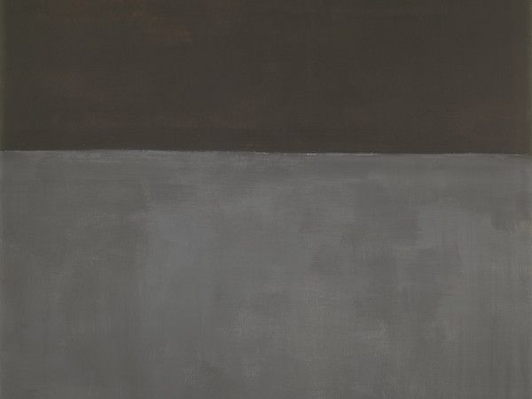 Mark Rothko, Senza titolo (Nero su grigio), 1969, acrilico su tela, cm 206,7x193. Washington, National Gallery of Art